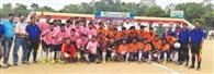 फुटबॉल प्रतियोगिता पर ¨चगरीगुड़ा का कब्जा