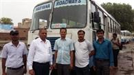 जोहड़ में जमा दूषित पानी ग्रामीण व विभाग आमने सामने