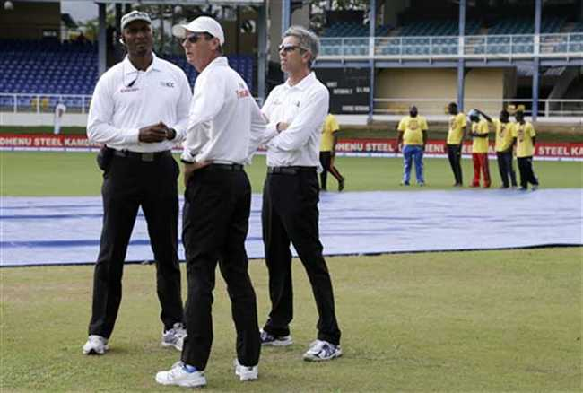 Second day match called off due to rain