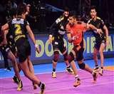 प्रो कबड्डी लीग: यू-मुंबा पर भारी पड़े तेलुगू टाइटंस, दर्ज़ की दूसरी जीत