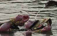 Will the idol immersion in rivers