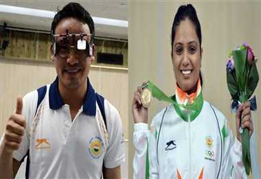 17th Asian Games: Indian shooter Jitu Rai wins gold medal in 50m pistol men's event