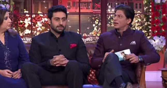 Shahrukh gets angry on Comedy Nights With Kapil