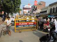 traffic ristriction on chauk side
