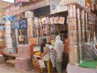 today dhanteras, market ready for business