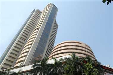 Sensex surges 392 pts on oil  gas reforms, BJP's stellar show
