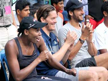 Venus Williams says she like Indian cuisine while Enqvist likes Indian women