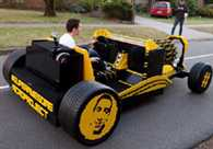Lego Car Fueled by Air Drives Into History