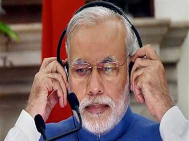 man ki bat:pm modi talk to student