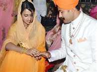 A wedding beyond borders
