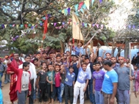 शांति अखाड़ा ने मनाया हनुमान जन्मोत्सव