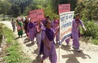 बुराइयों के खिलाफ निकाली जागरूकता रैली