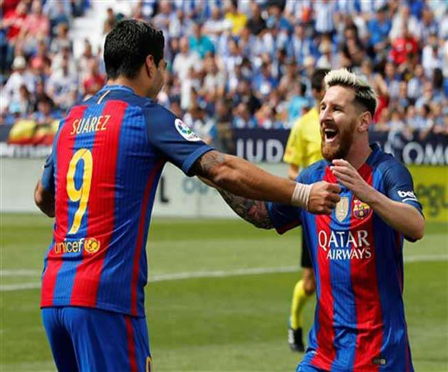 Lionel Messi two goals helped Barcelona to win against Valencia in la liga league
