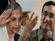 ajay maken invited sheila dixit for tea party