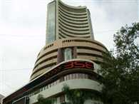 India's benchmark BSE index down