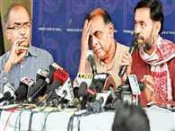 AAP expels Prashant Bhushan, Yogendra Yadav for 'anti-party' activities