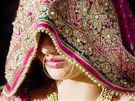 bride angry after molestation by procession people