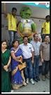राजगांगपुर में ऑली मास्कॉट का भव्य स्वागत