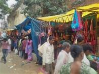 ईद के बाजार में छाया रौनक, हो रही खरीदारी