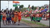 कांवड़ियों पर छाया भोलेनाथ और भारत मां का नशा, आतंकियों के खिलाफ गुस्सा