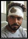 झगड़ों में चार व्यक्ति घायल, अस्पताल में भर्ती
