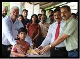 समाजसेवा के संकल्प के साथ मनाया स्थापना दिवस