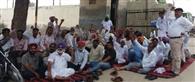 टीएसयू कर्मियों ने की गेट रैली