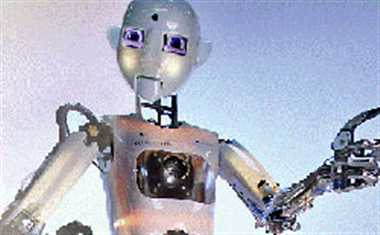 Now, robot that is a stand-up comedian