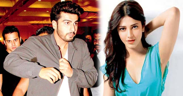 Arjun Kapoor saves Shruti Hassan life