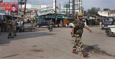 Indication of the communal tension in Muzaffarnagar again
