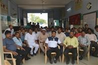 135 member shyam kirpa sewa mandal, samalkha