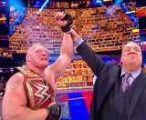 WWE समरस्लैम: ब्रॉक लेसनर ने रोमन रेन्स, समोआ जो और स्ट्रोमैन को किया पस्त