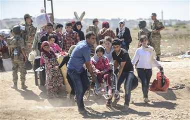 45,000 Syrian Kurds enter Turkey: deputy PM