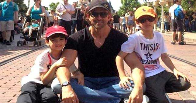 Hrithik Roshan's kids Hrehaan and Hridhaan want to become actors