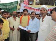 protest for electricity