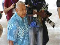 Bainimarama proclaims victory in Fiji poll