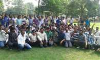 Meter Readers Demonstrated In Lucknow