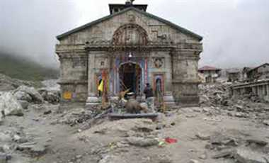 Resolution to return the splendor of Kedar Dham