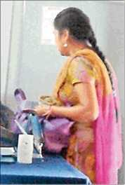 Fan Of Rahul Gandhi In Police Station