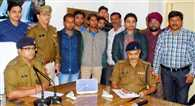 up sitapur news three historysheeter arrested with weopens
