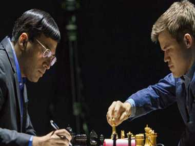 Anand plays another draw, Carlsen reaches more close to title