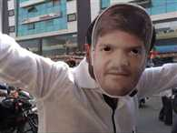 This time in Gujrat election mask is visible Hardik Patel not Modi