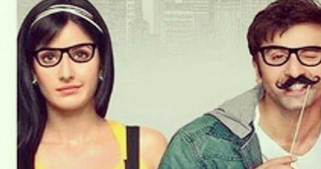 Ranbir Kapoor and Katrina Kaif Jagga Jasoos first poster
