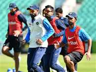 Indian team angry from practice facilities