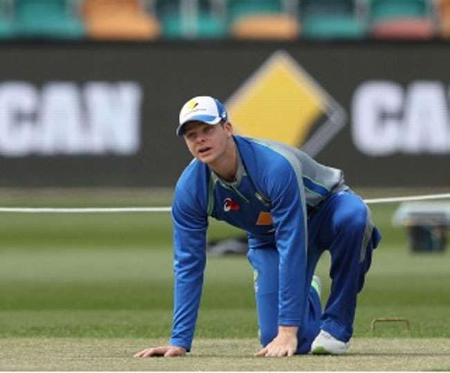 Wicket looks incredibly dry for a day before the Test match says Australian skipper Steve Smith online hindi news