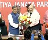 कर्नाटक में कांग्रेस को झटका, भाजपा में शामिल हुए एसएम कृष्णा