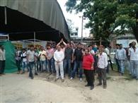 पालमपुर के व्यापारियों ने किया सेल का विरोध