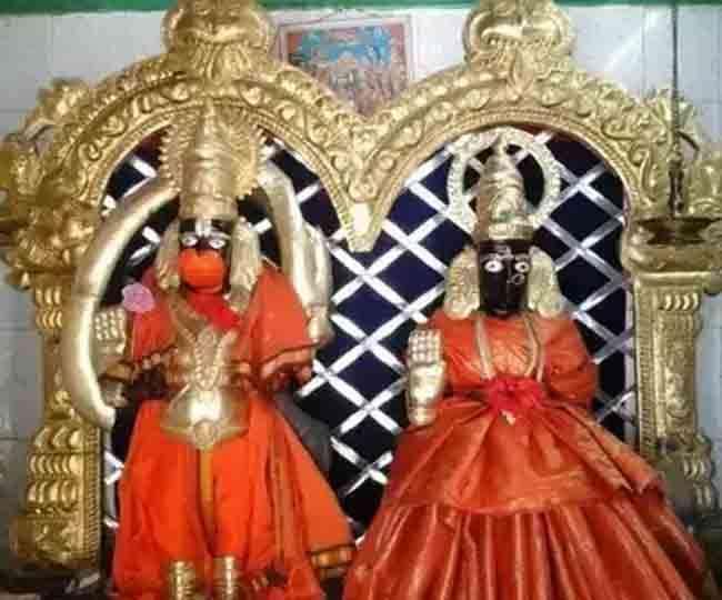 तेलंगाना के इस मंदिर में होती है भगवान हनुमान और उनकी पत्नी सुवर्चला देवी की पूजा