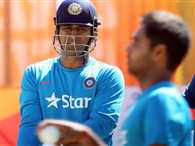 MS Dhoni says new coach should be chosen after taking time