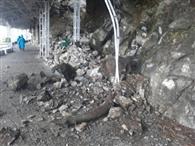 वैष्णो देवी मार्ग पर भूस्खलन, भैरो घाटी मार्ग बंद